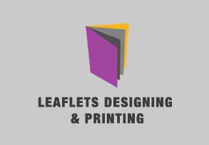 Leaflets Designing & Printing