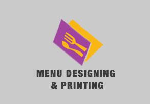Menu Designing & Printing